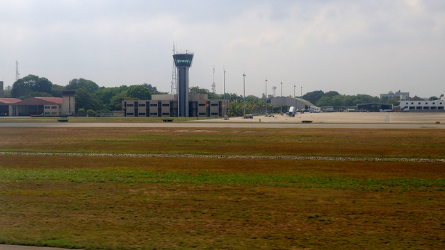 A view from Colombo Bandaranaike International Airport