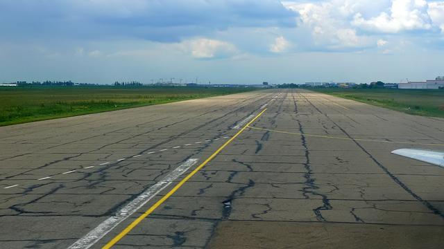 A view from Krasnodar International Airport