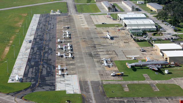 A view from New Smyrna Beach Municipal Airport
