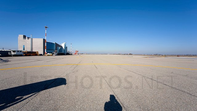 A view from Cuneo Levaldigi Airport
