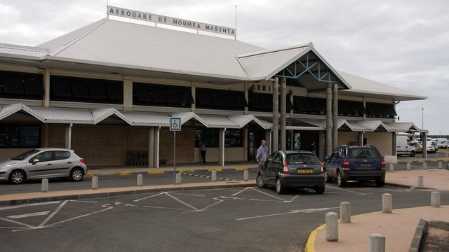A view from Noumea Magenta Airport