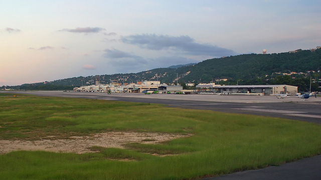 A view from Montego Bay Sangster International Airport