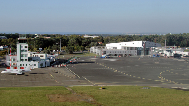 A view from Biarritz Pays Basque Airport