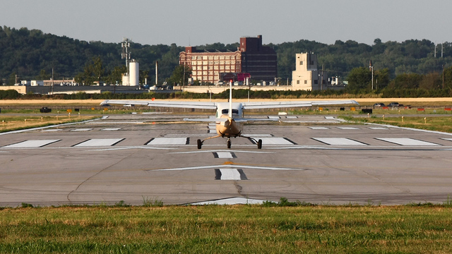 A view from Kansas City Downtown Airport