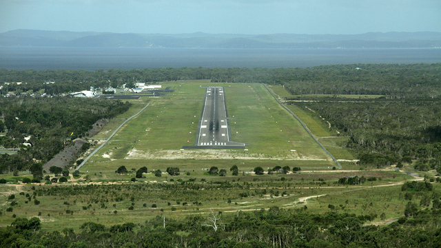 A view from Hervey Bay Airport