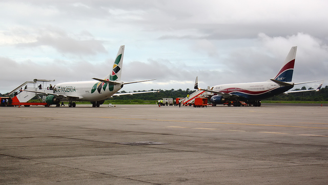 A view from Port Harcourt International Airport