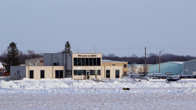 A view from Ames Municipal Airport