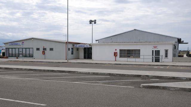 A view from Oristano Fenosu Airport