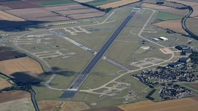 A view from RAF Scampton