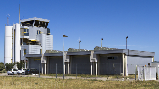 A view from Avignon Caumont Airport