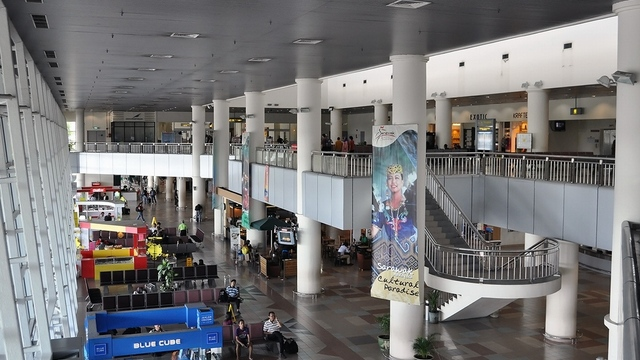 A view from Miri Airport