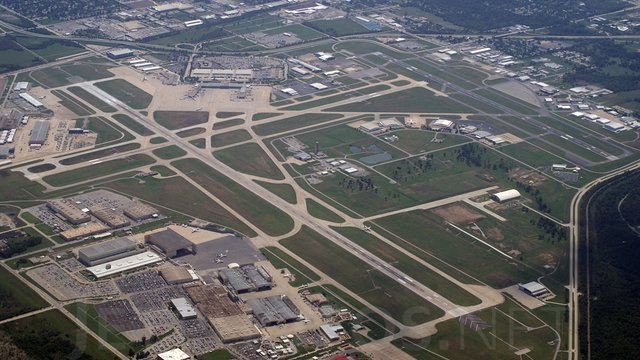 A view from Tulsa International Airport