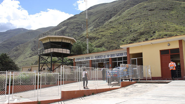 A view from Huanuco Airport