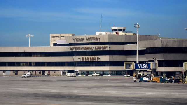 A view from Manila Ninoy Aquino International Airport