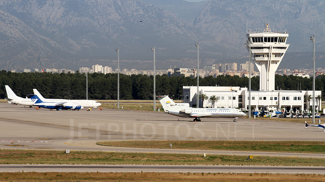 A view from Antalya Airport