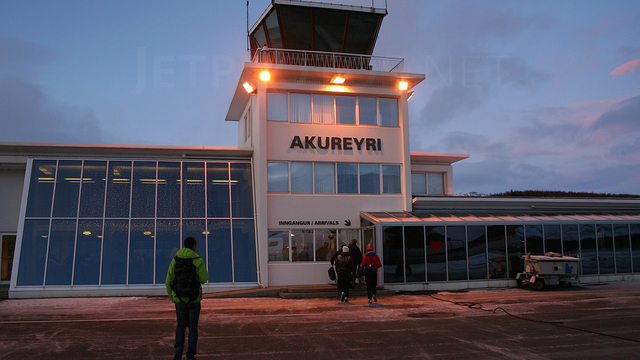 A view from Akureyri Airport