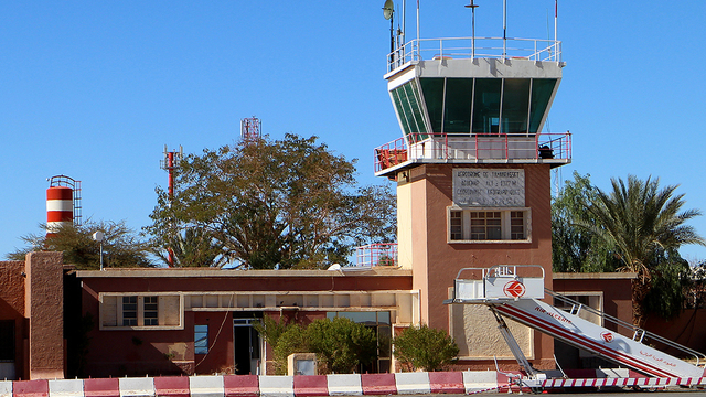 A view from Tamanrasset Aguenar Airport