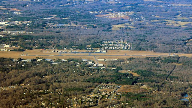 A view from Rock Hill York County Airport
