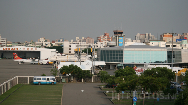 A view from Kaohsiung International Airport