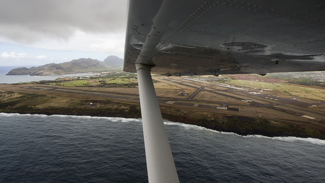 A view from Lihue Airport