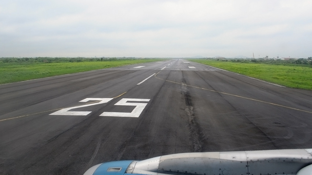 A view from Haiphong Cat Bi International Airport