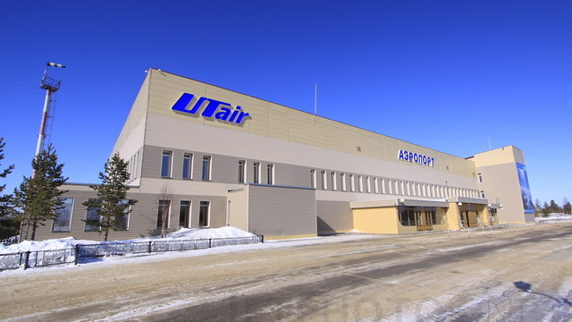 A view from Noyabrsk Airport