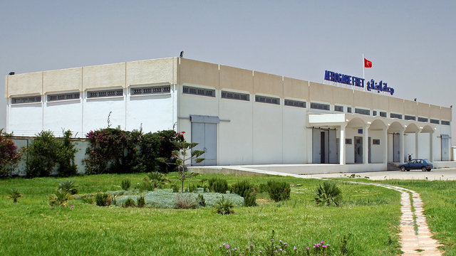 A view from Sfax–Thyna International Airport