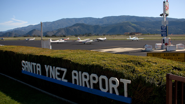 A view from Santa Ynez Airport