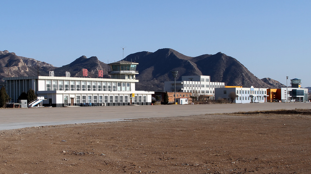 A view from Chaoyang Airport