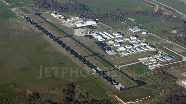 A view from Denton Enterprise Airport