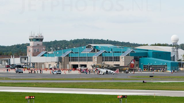 A view from Worcester Regional Airport