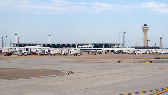 A view from Memphis International Airport