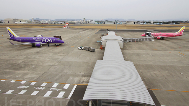 A view from Nagoya Komaki Airport