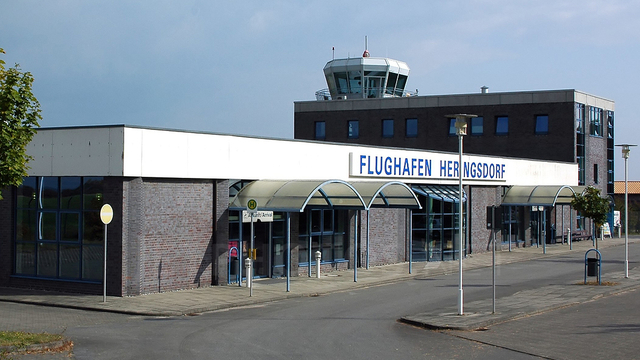 A view from Heringsdorf Airport