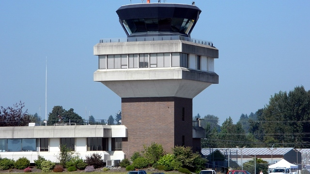 A view from Abbotsford International Airport