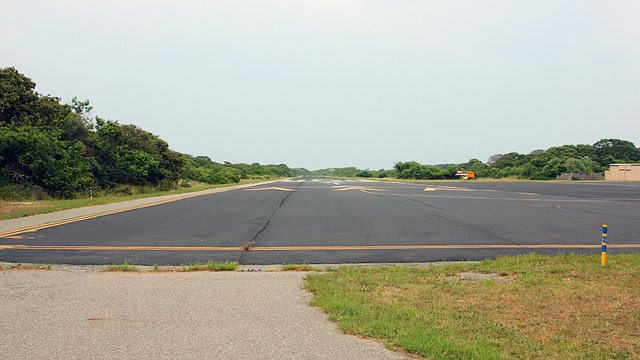 A view from Montauk Airport