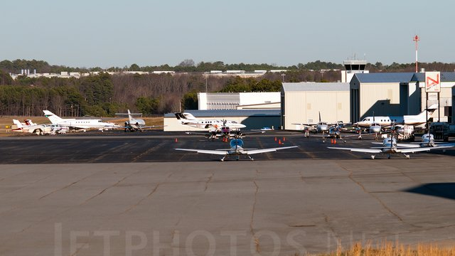 A view from Lawrenceville Gwinnett County Airport