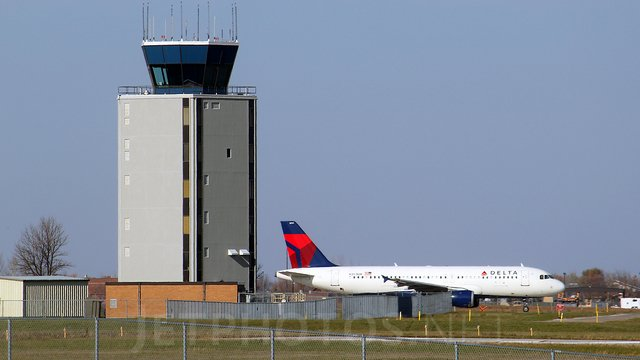 A view from Fargo Hector International Airport
