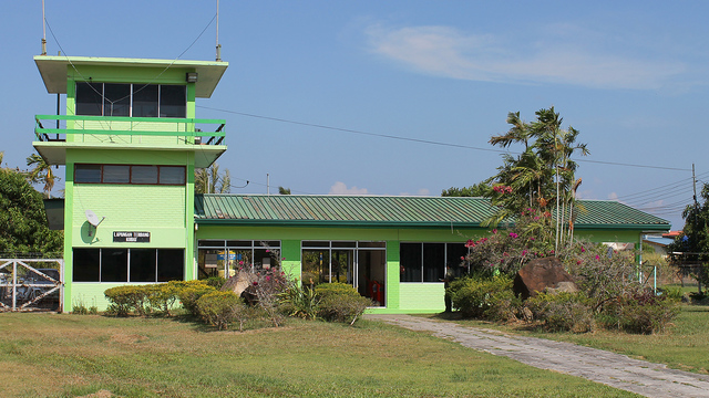 A view from Kudat Airport