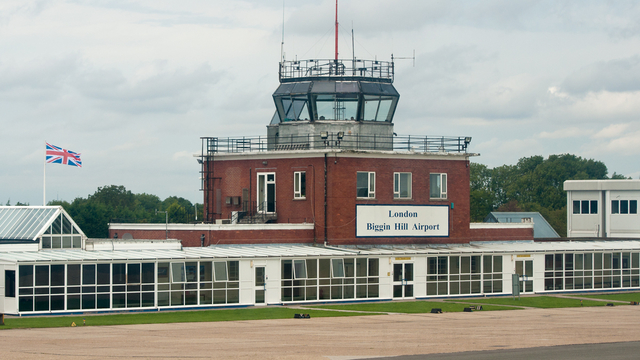 A view from London Biggin Hill Airport