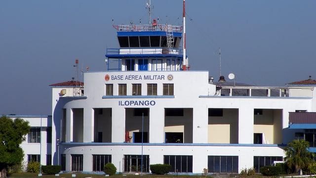 A view from San Salvador Ilopango International Airport