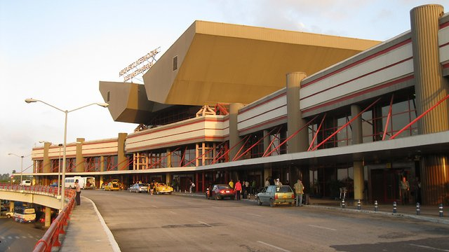 A view from Havana Jose Marti International Airport