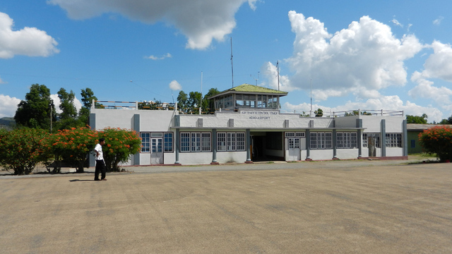 A view from Heho Airport