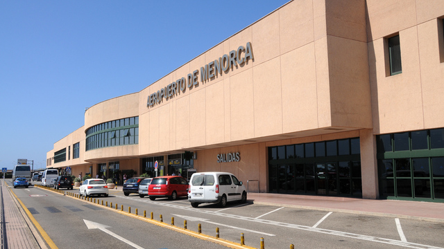 A view from Mahon Menorca Airport