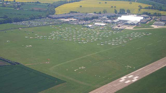 A view from Northampton Sywell Airport