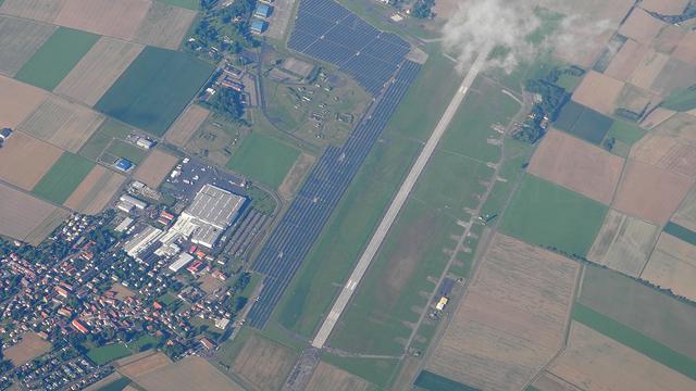 A view from Giebelstadt Airport