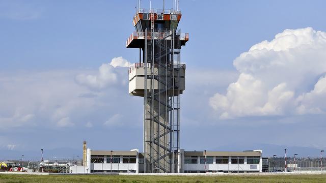 A view from Trieste Friuli Venezia Giulia Airport