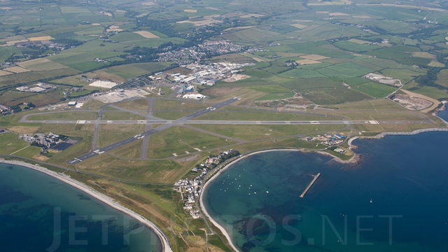 A view from Isle of Man Airport