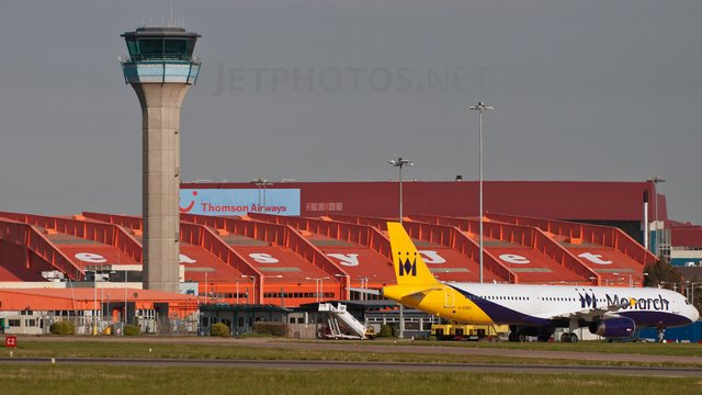 A view from London Luton Airport