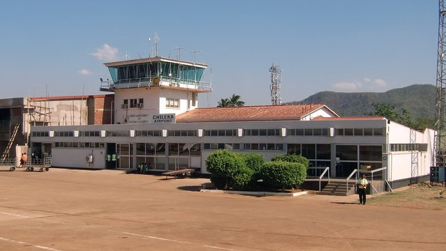 A view from Blantyre Chileka International Airport